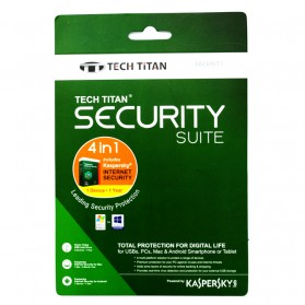 Kaspersky Antivirus - Kaspersky Internet Security 2017 Tech Titan Security Suite 1 User