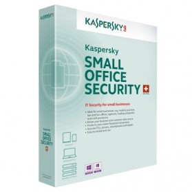Software Antivirus Kaspersky, Norman, Norton - Kaspersky Small Office Security - 10 User + 1 Server