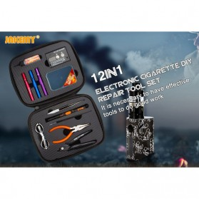 Jakemy Coil DIY Kit Vape Tool 12 in 1 - JM-P16 - 6
