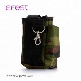 Efest Tas Pinggang Pouch Mod Vape Vaporizer Nylon - B01 - Black - 2