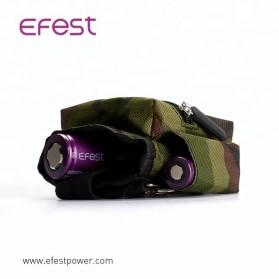 Efest Tas Pinggang Pouch Mod Vape Vaporizer Nylon - B01 - Black - 3