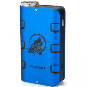 Authentic SMY GOD 180W Variable Voltage Wattage Box Mod - Blue