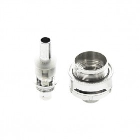 Innokin Gladius Adjustable Airflow Dual Coil Clearomizer 2.1 Ohm - Silver - 4