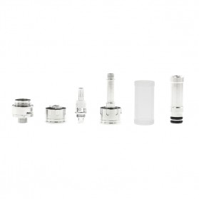 Innokin Gladius Adjustable Airflow Dual Coil Clearomizer 2.1 Ohm - Silver - 9