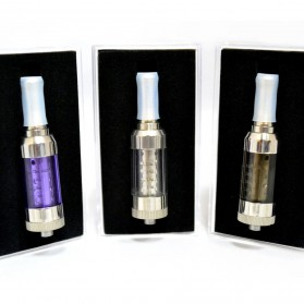 Innokin iClear 30S Dual Coil Clearomizer Non-Rotatable Drip Tip 2.1 Ohm - Red - 5