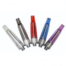 Innokin iClear 12 Dual Coil Clearomizer Non-Rotatable Color Drip Tip 1.5 Ohm - Transparent