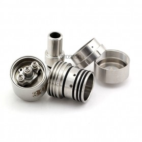 3D RDA Rebuildable Atomizer - Silver - 3