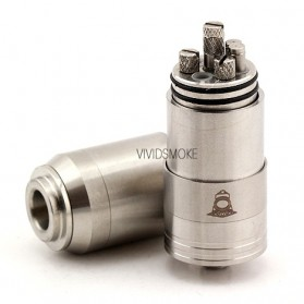 Dome RBA Rebuildable Atomizer - Silver - 3