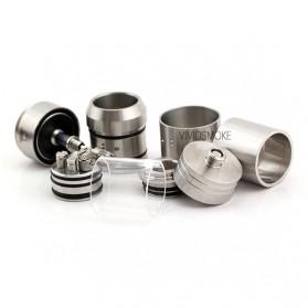 Dome RBA Rebuildable Atomizer - Silver - 4