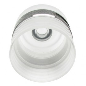 Helios M Plastic RDA Rebuildable Atomizer - Silver - 2