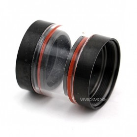 Kayfun Glass Nano Clear Tank for Kayfun V3.1/V.2 Lite - Black