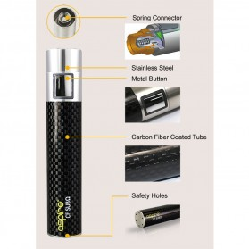 Aspire CF SUB Carbon Fiber Battery - Black - 5