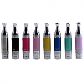 Aspire BVC ET-S Glass Version Clearomizer 1.8 Ohm - Silver