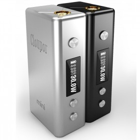 Authentic Cloupor Mini Variable Voltage Mod 30W - Black