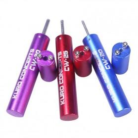 Kuro Koiler Khantal Wire Coiling Tool - CW-20 CW-25 CW-30 - Purple - 3