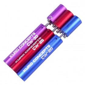 Kuro Koiler Khantal Wire Coiling Tool - CW-20 CW-25 CW-30 - Red - 2