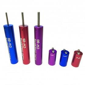 Kuro Koiler Khantal Wire Coiling Tool - CW-20 CW-25 CW-30 - Red - 5