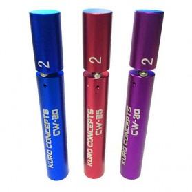 Kuro Koiler Khantal Wire Coiling Tool - CW-20 CW-25 CW-30 - Red - 6