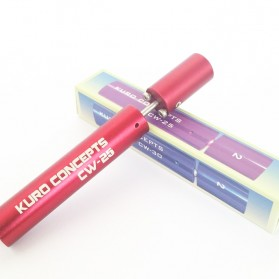 Kuro Koiler Khantal Wire Coiling Tool - CW-20 CW-25 CW-30 - Red - 7