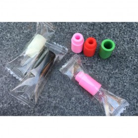 Silicone Rubber Drip Tip Vaporizer - Multi-Color