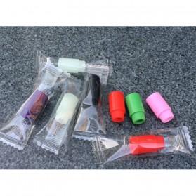 Silicone Rubber Drip Tip Vaporizer - Multi-Color - 3