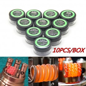 Prebuilt Coil Flat Twisted Wire 24AWG/0.50mm*2 0.20 Ohm 10 PCS - 7