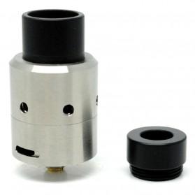 Velocity RDA V2 Clone Wide Bore Drip Tips - Silver
