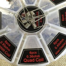 8 in 1 Demon Killer Wire Prebuilt Coils Vape DIY - White - 2