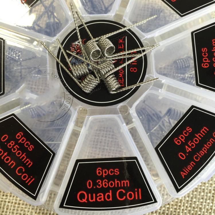 ... 8 in 1 Demon Killer Wire Prebuilt Coils Vape DIY - White - 2 ... bca059c506