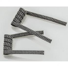 Prebuilt Clapton Wire Alien Coil 0.2 ohm - White - 5