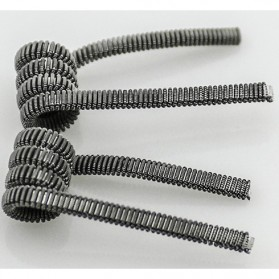 Prebuilt Clapton Wire Alien Coil 0.2 ohm - White - 6