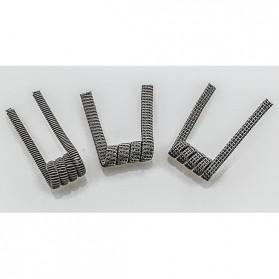 Prebuilt Clapton Wire Alien Coil 0.2 ohm - White - 7