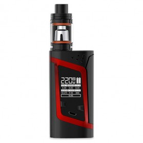 Authentic SMOK Alien Kit Variable Voltage Wattage Box Mod - Black/Red - 1