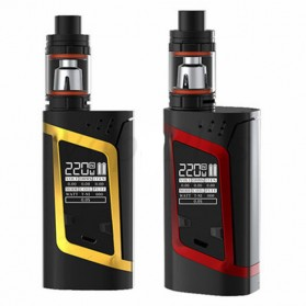 Authentic SMOK Alien Kit Variable Voltage Wattage Box Mod - Black/Red - 3