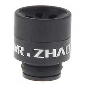 Mr.Zhao Aluminium + POM Hybrid Drip Tip Vaporizer - Black