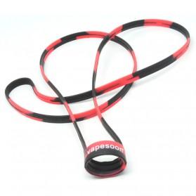 Lanyard Silicone Vape Band Rokok Elektrik Universal - Black/Red