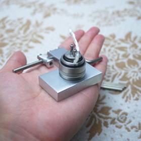Coil Jig Tool Alat Gulung Coil Vape DIY 2.0-4.0mm - Silver - 5