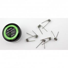 Prebuilt Coil Fused Clapton Wire 28GA 2 +32G 0.45Ohm 10PCS