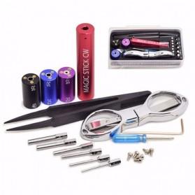 Magic Stick 6 in 1 CW Coiling Kit Vapor - Black - 4