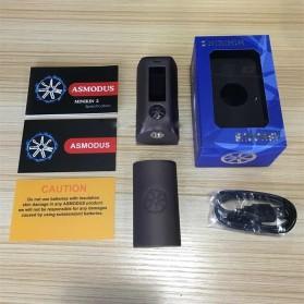 Authentic Asmodus Minikin 2 Box Mod 180W - Black - 2