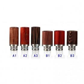 Drip Tip Vapor Bahan Kayu 510 27.3mm A3 - Black