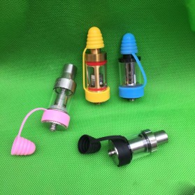 Rubber Band Vape dengan Drip Tip Cap - Blue - 2