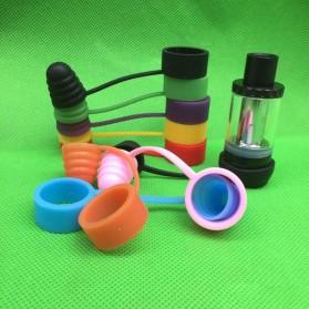 Rubber Band Vape dengan Drip Tip Cap - Blue - 3