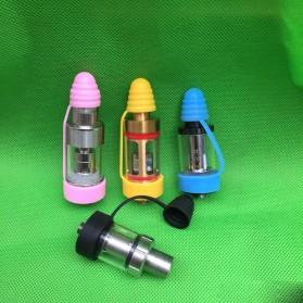 Rubber Band Vape dengan Drip Tip Cap - Blue - 5