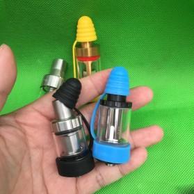 Rubber Band Vape dengan Drip Tip Cap - Blue - 6