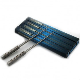 Micro Coil Jig Tool Alat Gulung Coil Vape - Silver - 6