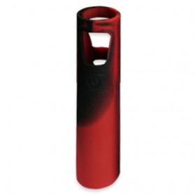 Drip Tip & Tas Rokok Elektrik - Casing Silicone Ego Aio - Black/Red