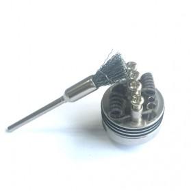 Sikat Brush Coil RDA RBA Vape dengan Obeng T - E-XY - 5