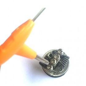 Sikat Brush Coil RDA RBA Vape dengan Obeng T - E-XY - 4