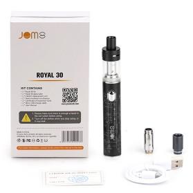 JOMOTECH Royal 30 Vape Box Mod Kit 30W 1150mAh - Jomo-199 - Black